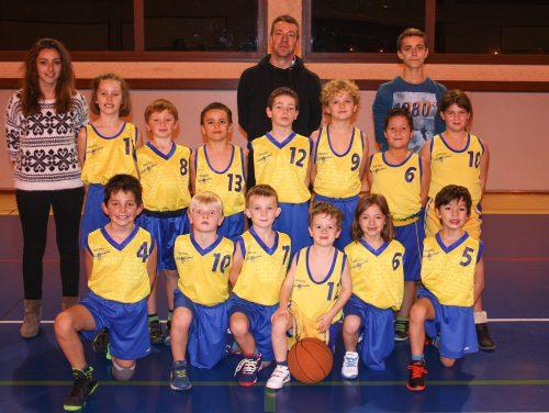 2015-2016, Ecole Basket Bons-en-Chablais