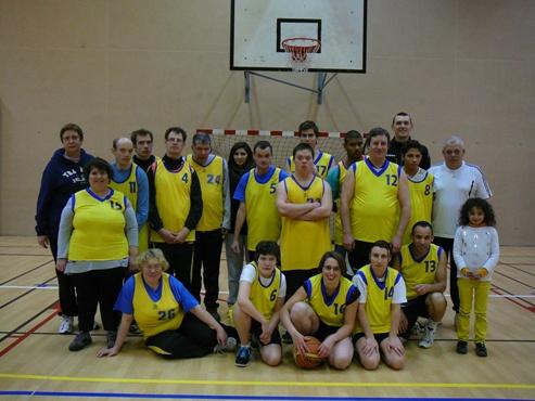 2013-2014, Basket Loisirs Adaptés