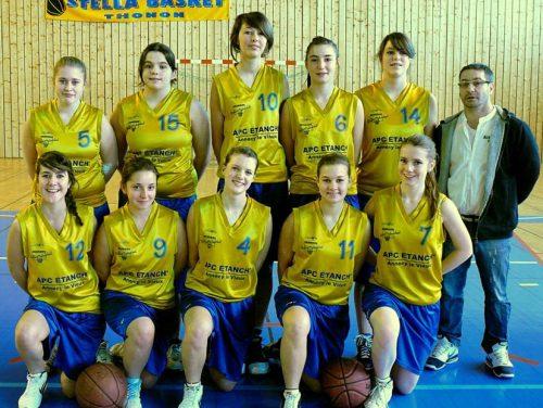 2010-2011, Cadettes 2