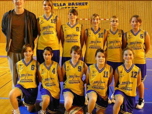 2010-2011, Minimes F