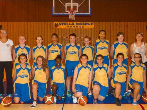 2014-2015, Cadettes