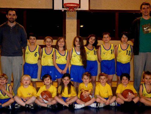 2010-2011, Ecole Basket Bons-en-Chablais