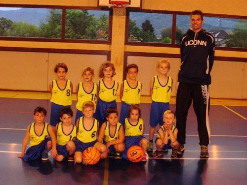 2014-2015, Ecole Basket Bons-en-Chablais