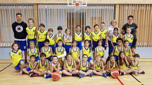 Ecole Basket Bons-en-Chablais - 2018-2019